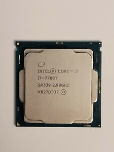 Intel Core i7-7700T SR339 2.9GHz LGA1151 35W Low Power Kaby Lake 7th Gen CPU