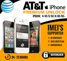 SEMI PREMIUM FACTORY UNLOCK FOR AT&T IPHONE X 8 7 6S 6 Plus 5 4 AT&T contract