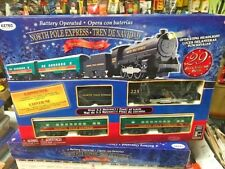 Toy Train Set North Pole Express Battery Operated Train Set 29 Pcs new in box