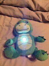 "Flashlight Friends Plush Dinosaur Stuffed Animal Light Up Bedtime Buddy 10"" 2013"