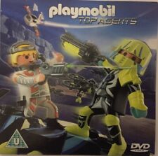 Playmobil Top Agents DVD NEW
