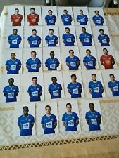 28 photos KAA Gent  2019/2020 10x15 cm Football Belgique