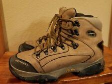 MERRELL Wind River Vibram Sole Tan Leather Hiking Boot Women 9 / 40 EU