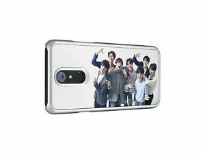 NEU & OVP original LG x BTS Q7  3D Image Case Handyhülle Hülle Backcover
