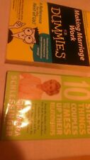 Lot of 2 Books, Making Marrige Work for Dummies and 10 Stupid Things Couples Do