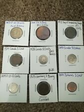New Listing9 Coin Lot: World coins and Silver