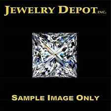 1.04 CARAT F-COLOR VS1-CLARITY PRINCESS CUT DIAMOND – GIA CERTIFIED – IDEAL CUT