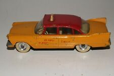 Dinky Toys #265, 1958 Plymouth Plaza Taxi, Original