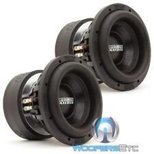 "(2) Sundown Audio Sa-8 V.3 D4 Subs 8"" 500W Dual 4-Ohm Subwoofers Bass Speakers"