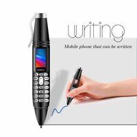 K07 Pen Mini Cellphone Tiny Screen GSM Dual SIM Dialer Mobile Phone Recording