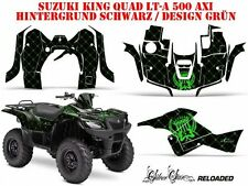 AMR RACING DEKOR KIT ATV SUZUKI KING QUAD LTA 500/700/750 SIVERSTAR RELOADED B