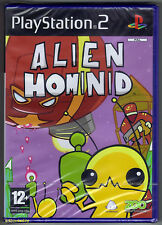 PS2 Alien Hominid (2005), UK Pal, New & Sony Factory Sealed, Flawed