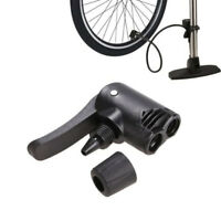 Bicycle Bike Cycle Tyre Tube Replacement Presta Dual Head Air Pump Valve Adapter