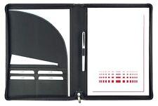 Schreibmappe A4 mit Reißverschluss Copana-Rindnappaleder – von FIHA-Promotion