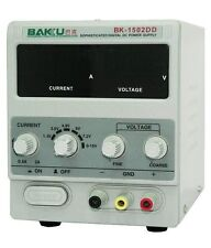 100% Original BAKU Power Supply BK-1502DD 0 - 2.1A 0 - 15V 1 - 500W 50HZ