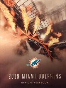 2019 MIAMI DOLPHINS YEARBOOK PROGRAM 2020 SUPER BOWL 54 ? NFL JOSH ROSEN