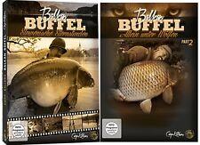 Carp Killers Balkan Büffel DVD Teil 1 + Teil 2, DVD Set über das Karpfenangeln