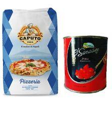 Farina Molino Pizzeria Caputo Pizzamehl Mehl 25kg + 2,5kg Tomatenpulpe