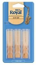 Rico Royal Alto Sax Reeds 3 Pack - Size 2.5