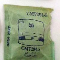 Vintage NOS G-S Crystal CMT294-5 for ELGIN 5711* 22.1 x 21.3 mm