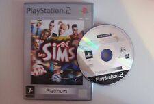 Sony playstation ps2 game pal the sims without doc