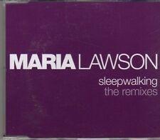 (CF377) Maria Lawson, Sleepwalking - The Remixes - 2006 DJ CD