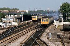 British Rail suburban DMUs at Oxford 10th May 1982 Rail Photo