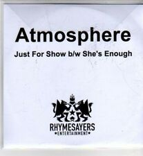 (CI334) Atmosphere, Just For Show / She's Enough - 2011 DJ CD