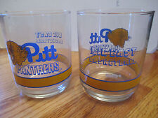 """80s Getty BIG EAST BASKETBALL - UNIVERSITY OF PITTSBURGH PANTHERS 4"""" Glass"""