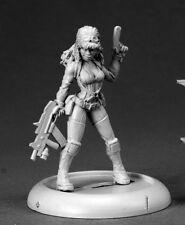 Farrah Sci Fi Heroine Chronoscope Reaper Miniatures Modern Ranged Goggles Gun