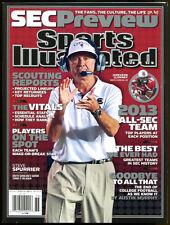 2013 Sports Illustrated SEC Preview Steve Spurrier Regional No Label