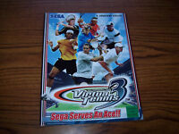 SEGA VIRTUAL TENNIS 3 VIDEO ARCADE GAME FLYER 2006
