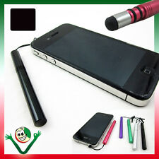 Pennino stylus pen NERO per Samsung Galaxy Grand Neo i9060 metallo