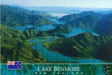Postcard: Lake Benmore, Otago, New Zealand
