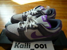 Nike Dunk Low Pro SB Size 11.5 Purple Pigeons 304292-051 Loden De La Flash C