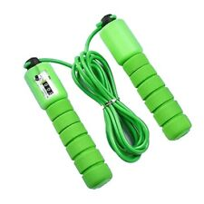 Sponge Grip Jump Rope with Electronic Fast Speed Counting Adjustable Skipping