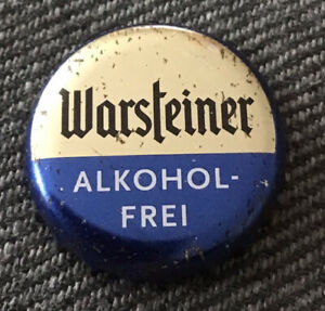 Kronkorken Warsteiner Bottle Cap KK Chapa Tappi Kroni Capsule Crown Item Xapa