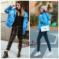 ZARA NEW PUFFER JACKET WITH HOOD SIZE L