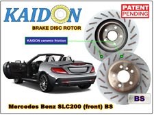 "Mercedes Benz SLC200 disc rotor KAIDON (front) type ""BS"" spec"