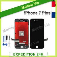 VITRE TACTILE +ECRAN LCD RETINA ASSEMBLÉ SUR CHASSIS POUR IPHONE 7 PLUS NOIR