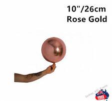 "ROSE GOLD BALLOON BALL ROUND ORBZ 10""/26CM BIRTHDAY WEDDING BABY SHOWER PARTY"