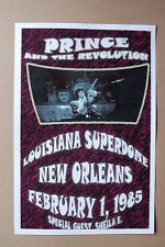 Prince Concert Tour Poster1985 New Orleans Superdome