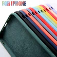 For iPhone 12 Mini 11 Pro Max XS XR 8 7 6 SE Liquid Silicone Soft TPU Case Cover