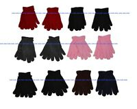 Kids Boys Girls Warm Polar Fleece Winter Gloves 1 - 5 years, 12 Pairs Pack NY