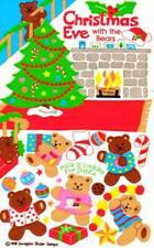 **SUPER RARE**     Maxi CHRISTMAS EVE with the TEDDY BEARS Sandylion Stickers