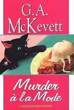 Murder A La Mode (Savannah Reid Mysteries), McKevett, G. A., 0758204604, Book, G