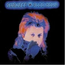 "ALDO NOVA ""SUBJECT (LIMITED COLLECTOR'S EDITION)""  CD NEU"