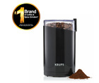 KRUPS Fast Touch Electric Coffee and Spice Grinder With Stainless Steel Blades F