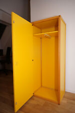Flötotto Profilsystem Container mit Tür, Kleiderschrank, Buche oder Ramin/Gelb