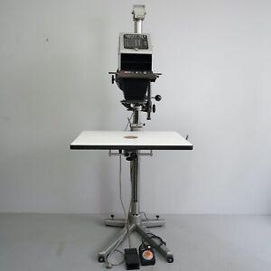 Vintage Durst Laborator 138 S Vergrößerungsgerät mit 105 und 210 mm Linse 3.AIO